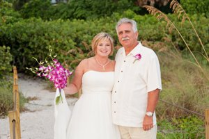 sanibel island secluded wedding beach