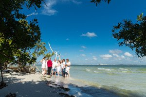 intimate wedding on Sanibel Island at the Lighthouse
