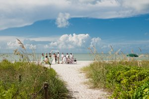 intimate wedding ceremony on Sanibel Island